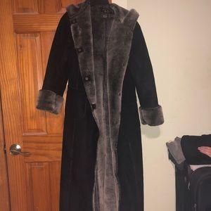 Jackets & Blazers - Long black coat